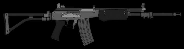 IMI Galil Assault Rifle
