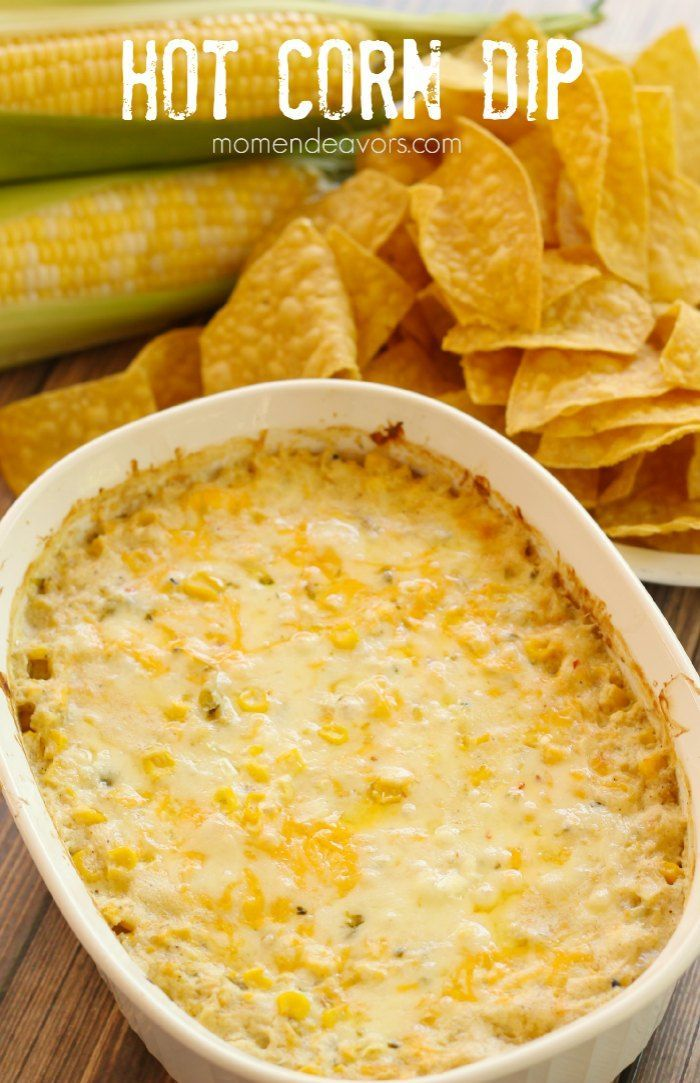 Hot Corn Dip - Yum!