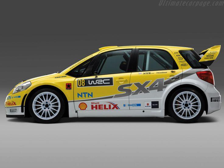 Wrc Rally   Suzuki SX4 WRC