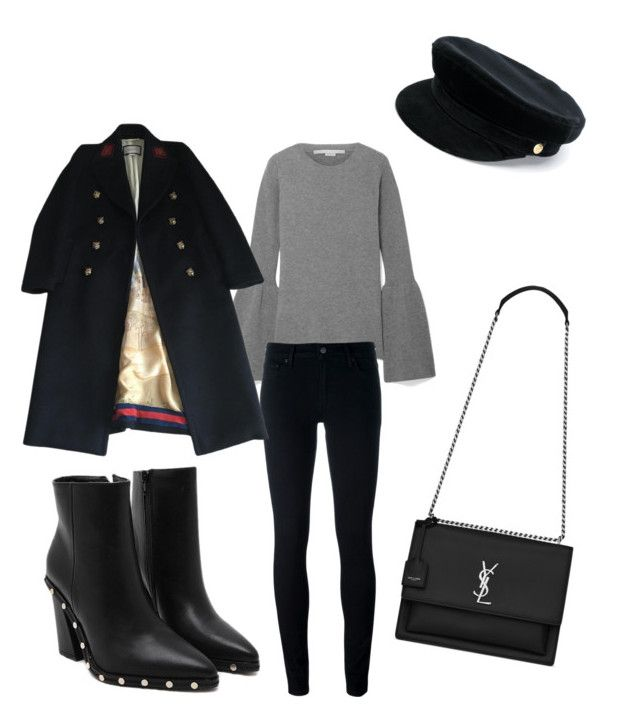 """""""Saturday"""" by madisonkiss on Polyvore featuring STELLA McCARTNEY, Levi's, Gucci, Yves Saint Laurent and Manokhi"""