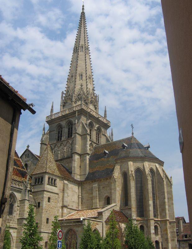 Cathédrale Saint-Lazare d'Autun 71