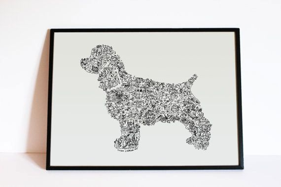 Hey, I found this really awesome Etsy listing at https://www.etsy.com/uk/listing/247167301/english-spaniel-cocker-dog-silouhette