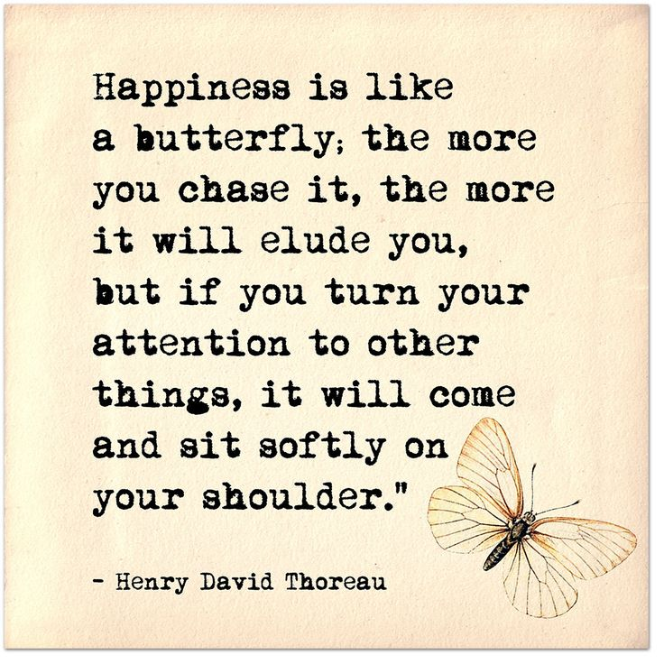 Happiness is Like a Butterfly - Henry David Thoreau Inspirational Literary Quote. Fine Art Print For Classroom, Library, Home or Nursery by EchoLiteraryArts on Etsy