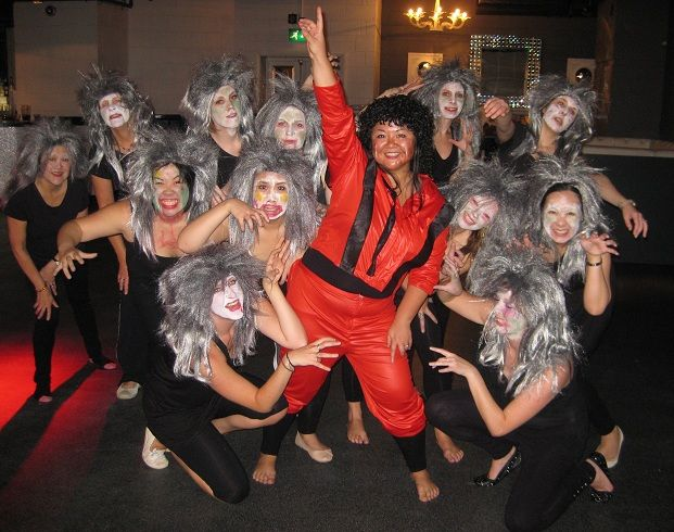 Hen Party Ideas For Small Groups: 17 Best Images About Thriller Dance Hen Party On Pinterest