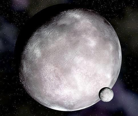 Tour of the Dwarf-Planets: Eris | Solar System | Pinterest