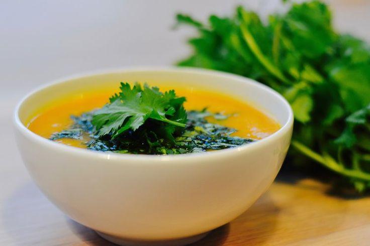Gresskarsuppe med fem ingredienser! — MATVRAKBLOGGEN