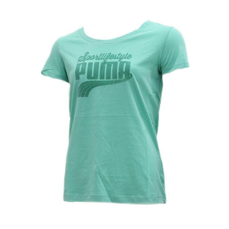 Γυναικείο T-shirt Puma φτιαγμένο 100% από οργανικό βαμβάκι και με πολύ άνετη εφαρμογή.