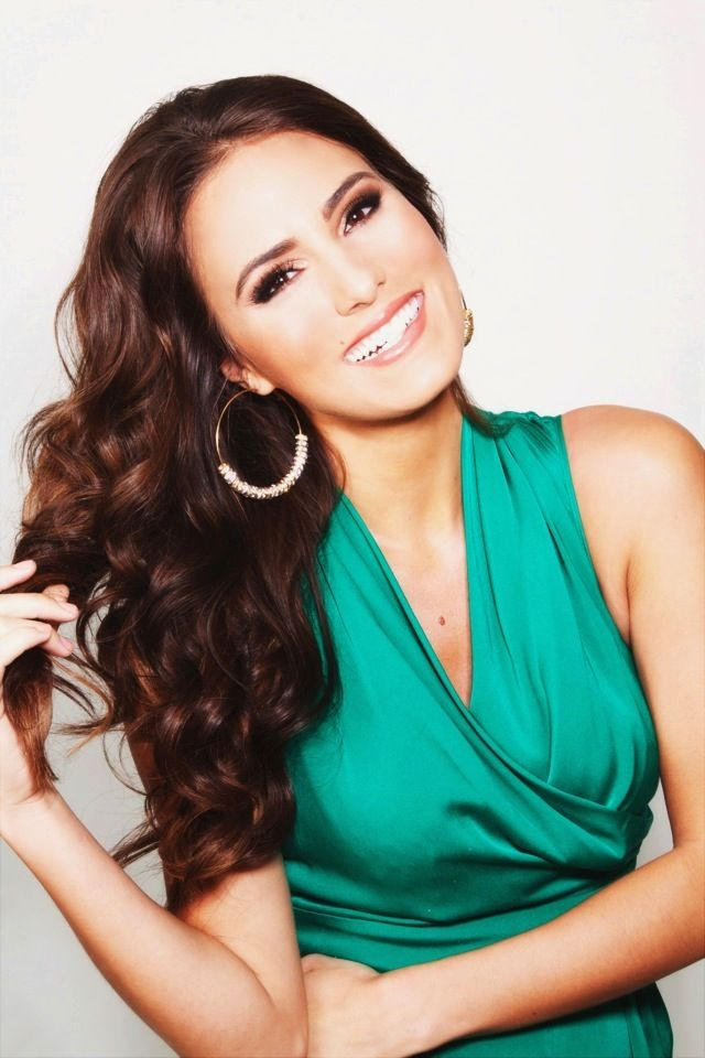Jessica VerSteeg Miss Iowa USA - 1st runner up - Smile - believe in your self! Pageant earrings - pageant make-up