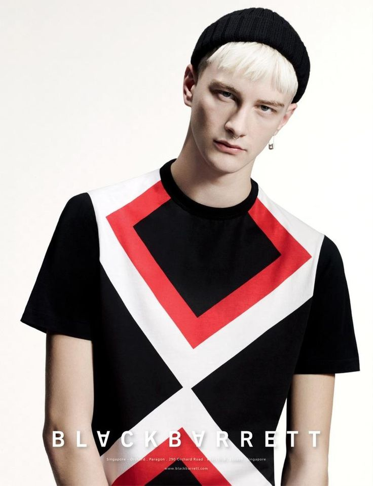 Benjamin Jarvis Black Barrett by Neil Barrett F/W 14