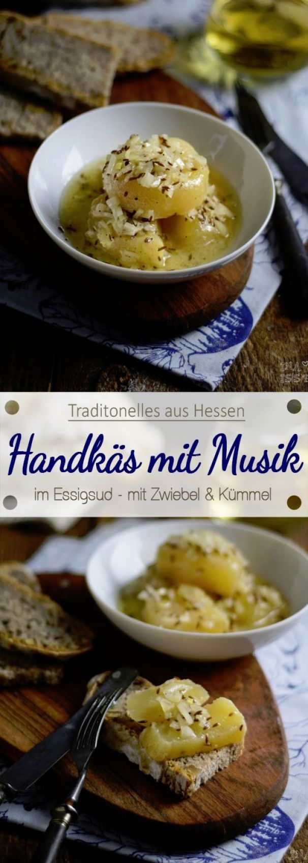 Handkäs Mit Musik Rezept