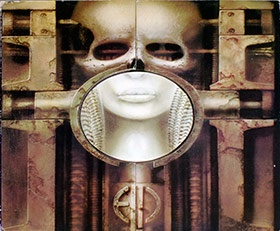 Great Vinyl on http://www.vinylrecords.ch this is album cover photo of ELP Emerson Lake Palmer - Brain Salad Surgery Austria
