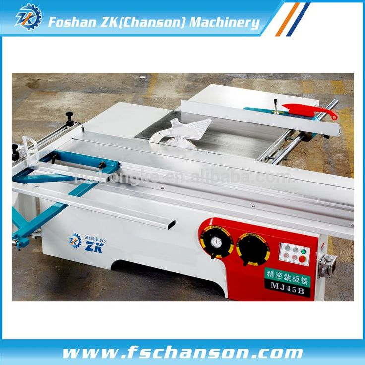 woodworking sliding table saw with scoring blade made in China