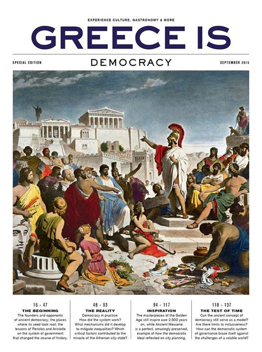 The Democracy Issue http://www.greece-is.com/democracy/