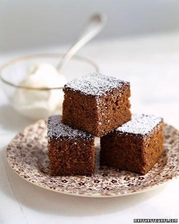 Gingerbread Snacking Cake Recipe