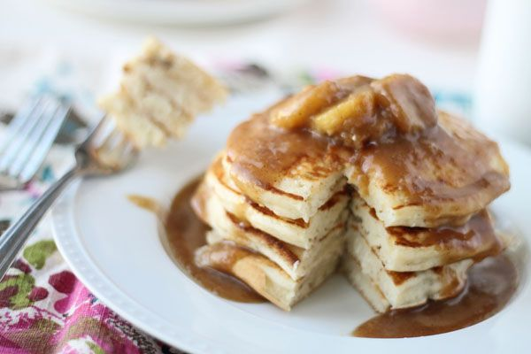 Bananas Foster Pancakes | Rise and Shine | Pinterest