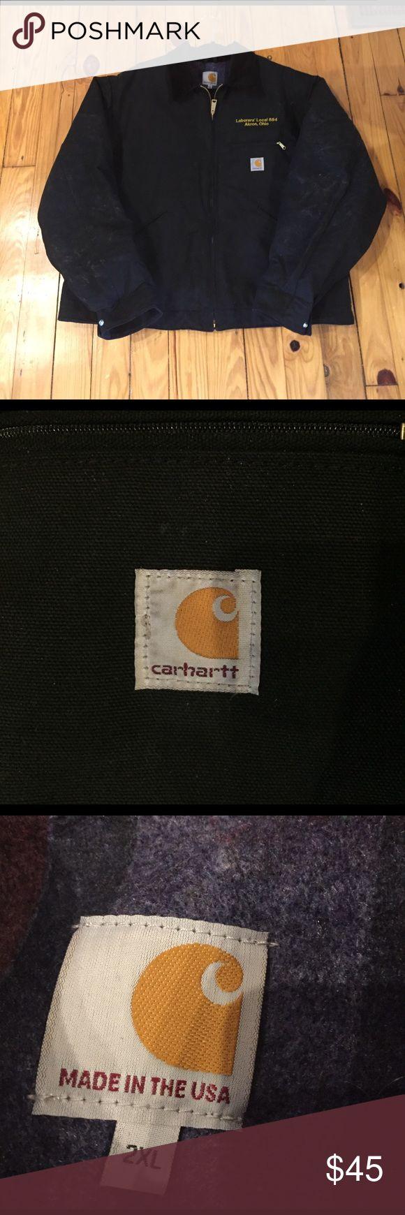 Men's 2XL Carhartt  Worn once! Super nice 2XL carhart! Made in US! Carhartt Jackets & Coats Military & Field