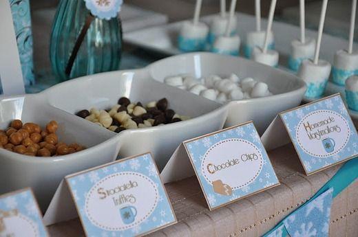 Make Your Own Hot Cocoa Bar #diy #hotcocoa