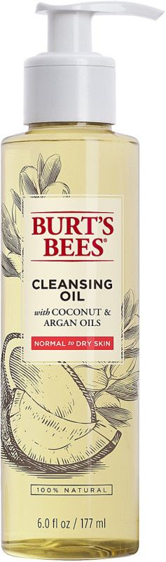 $16 Burt's Bees Facial Cleansing Oil with Coconut & Argan Oils