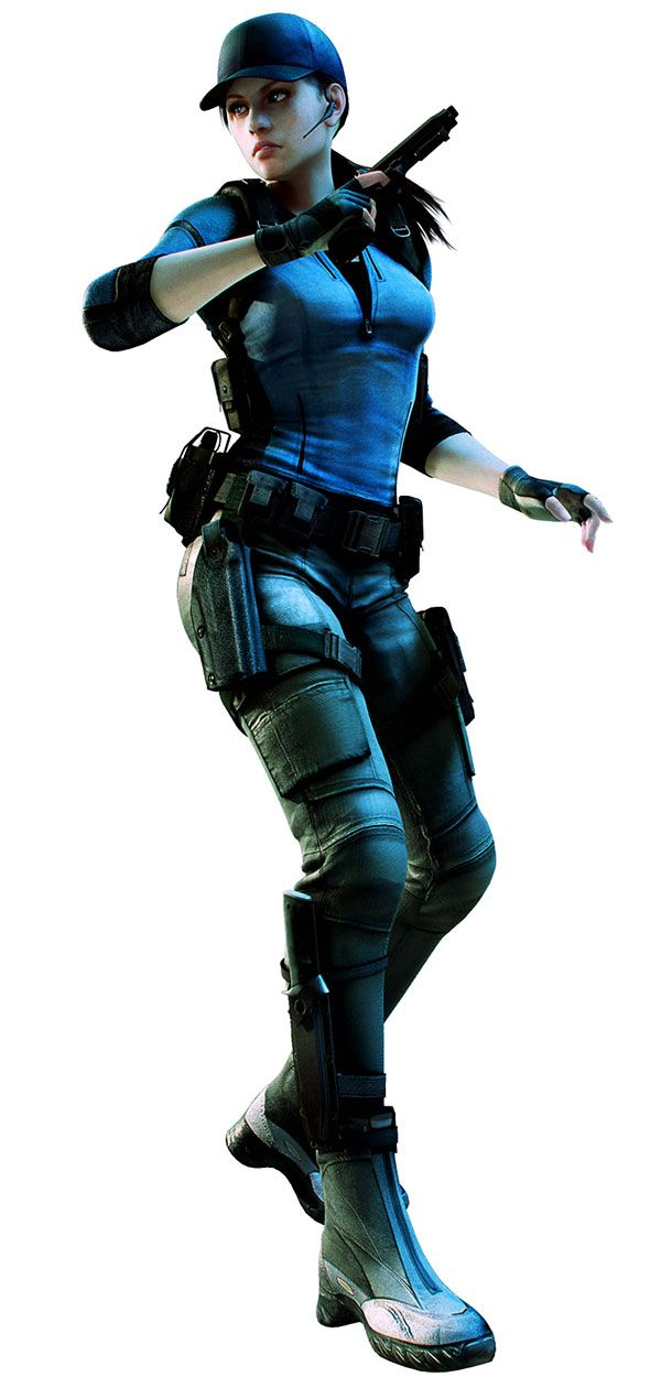 Jill Valentine - Resident Evil  Jill is one of my favorite characters because she is incredibly tough, loyal and resourceful.