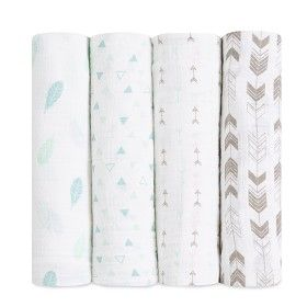 Exclusive! Aden + Anais classic muslin swaddle blankets in Outdoorsy is the perfect gender neutral blanket print! This limited edition collection is only available at select specialty stores!