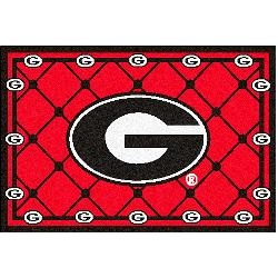 Fanmats Georgia Bulldogs Rug 5x8: Fanmats Georgia, Bulldogs Rug, Georgia Bulldogs