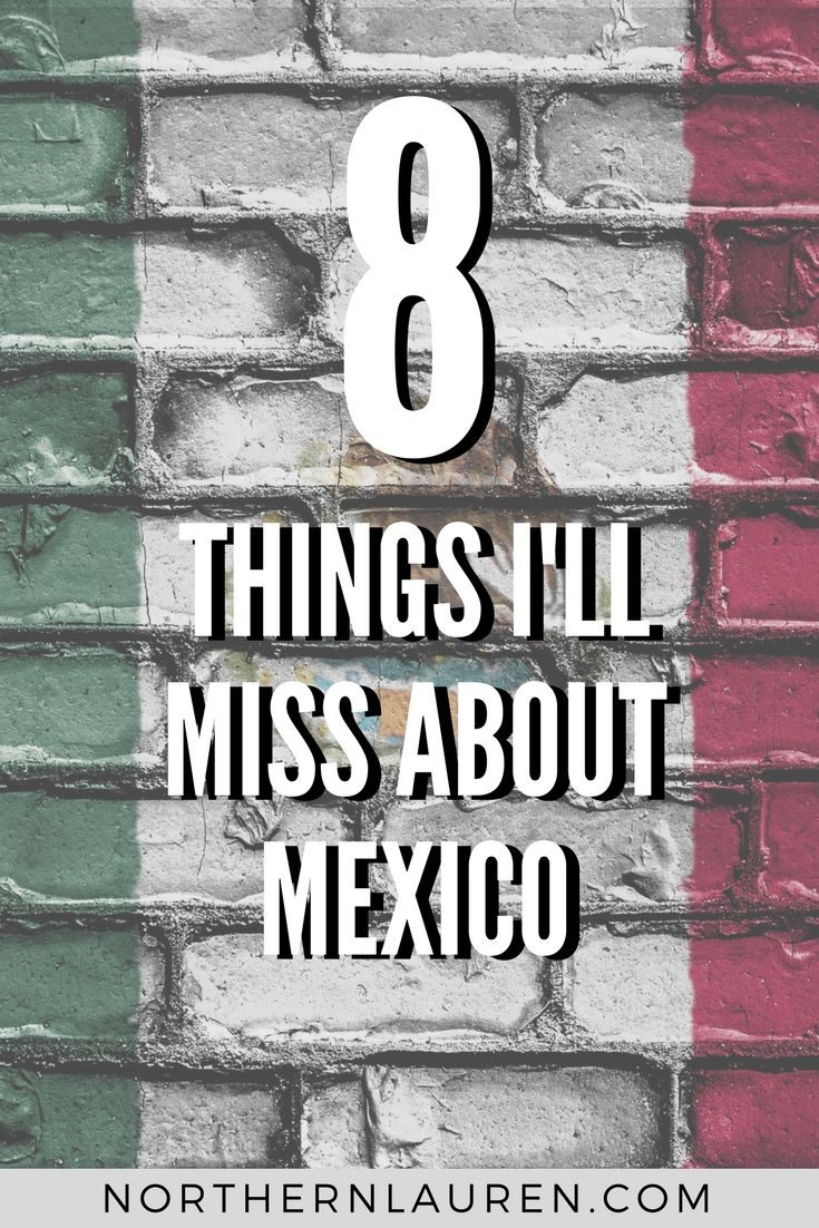 Leaving Mexico City the day after an earthquake flattened the Mexican capital wasn't the way I wanted to say goodbye. Here's what I'll miss about Mexico.