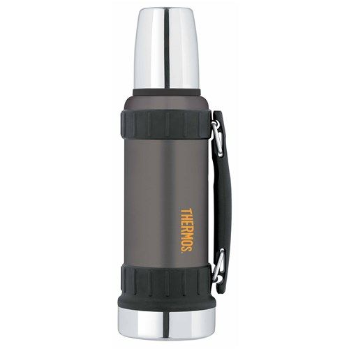 Thermos 1.2L Work Series Stainless Steel Vacuum Insulated Flask Gunmetal Grey | Water Bottles, Carry Cups & Travel Flasks - House