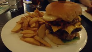 Reilly's Taphouse - Craft beers and gourmet pub grub. The scotch eggs and burgers are especially good.