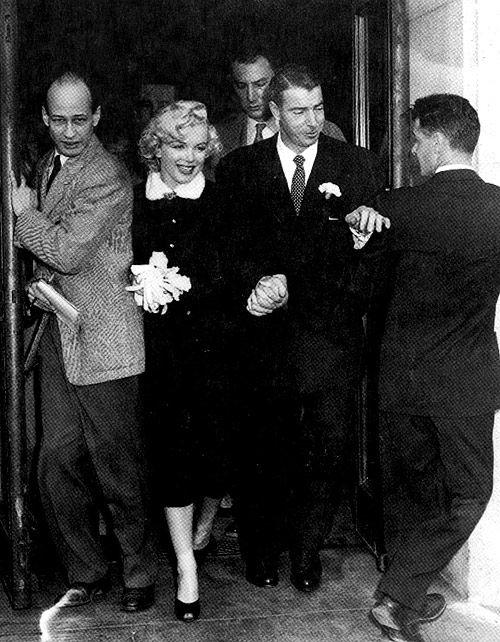 Iconic couples: Marilyn Monroe and Joe DiMaggio