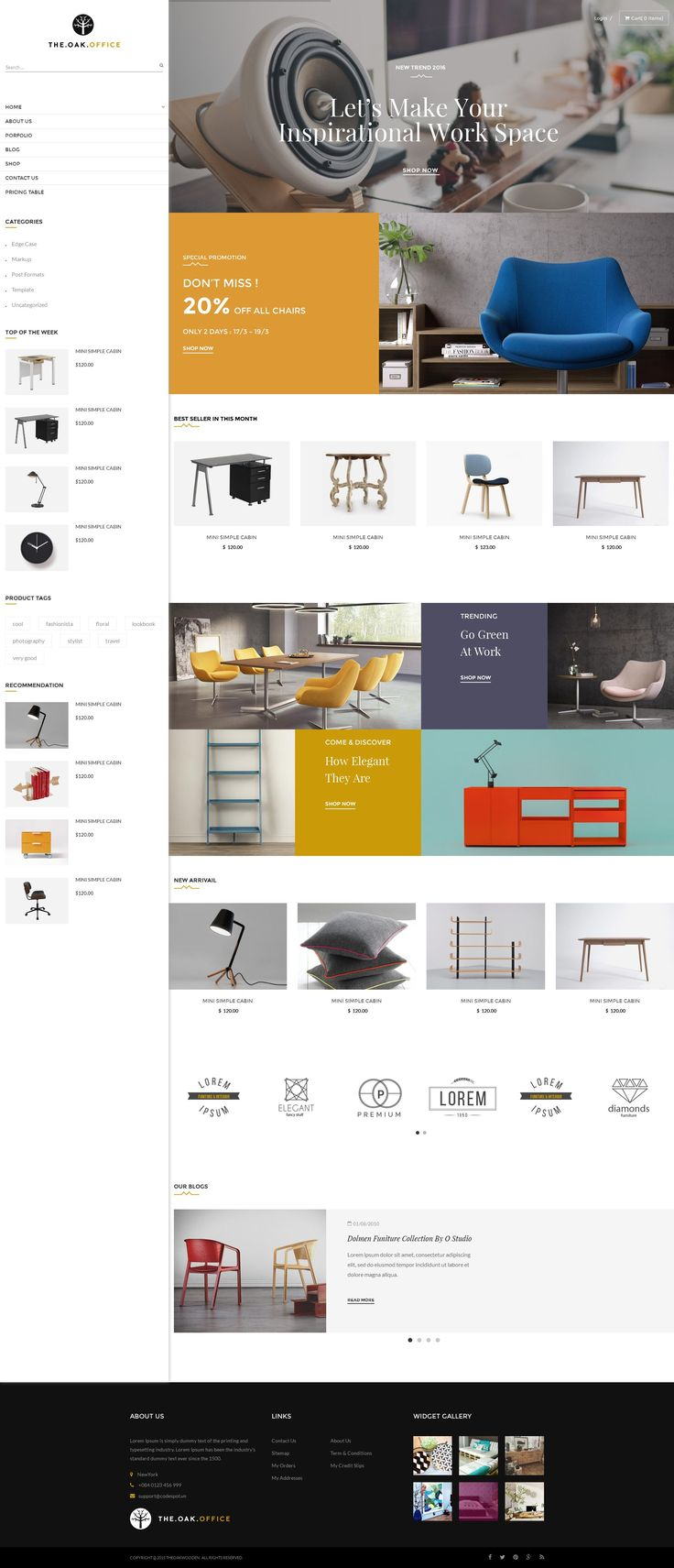 Beautiful Ecommerce Website Design | DezineMag