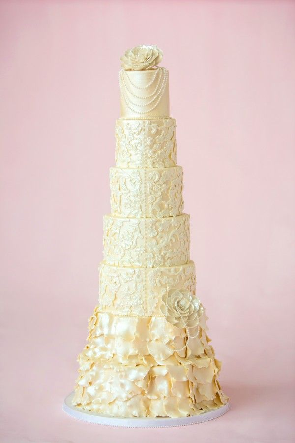 Canada S Prettiest Wedding Cakes For 2013 Modern Vintage