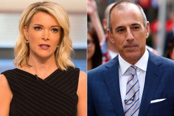 Megyn Kelly, Matt Lauer are posing for a picture