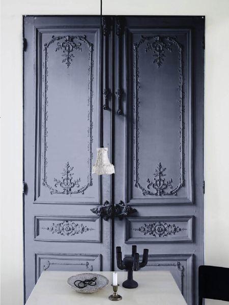 grey door  #boholover amberlair.com