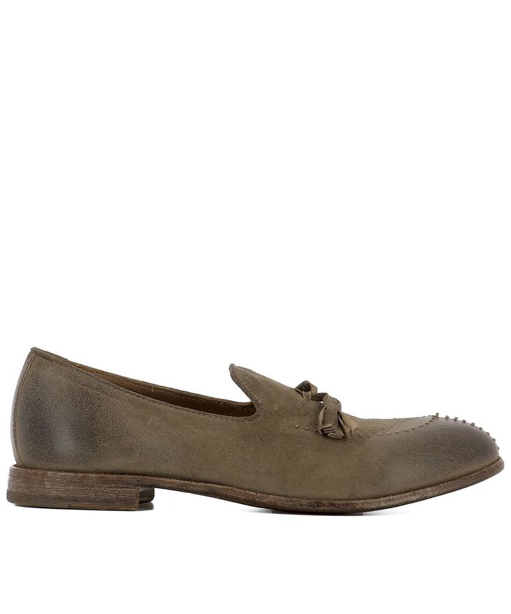 MOMA BROWN LEATHER LOAFERS. #moma #shoes #