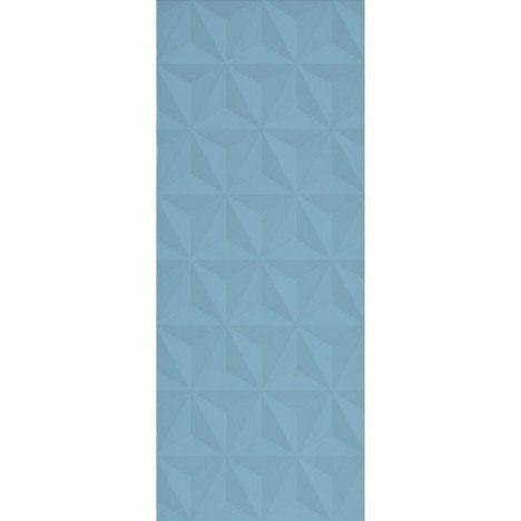 29.94 € / m² soit 21.26€ / Carton Faïence mur bleu baltique n°3, décor loft facette l.20 x L.50.2 cm, épaisseur 9mm