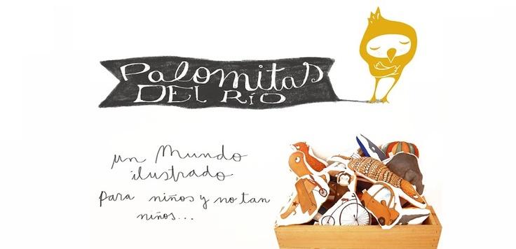 PALOMITAS DEL RÍO - un mundo ilustrado para niños y no tan niños ... Pyme chilena que propone cojines, gorros, baberos, mantitas (...) con lindos diseños