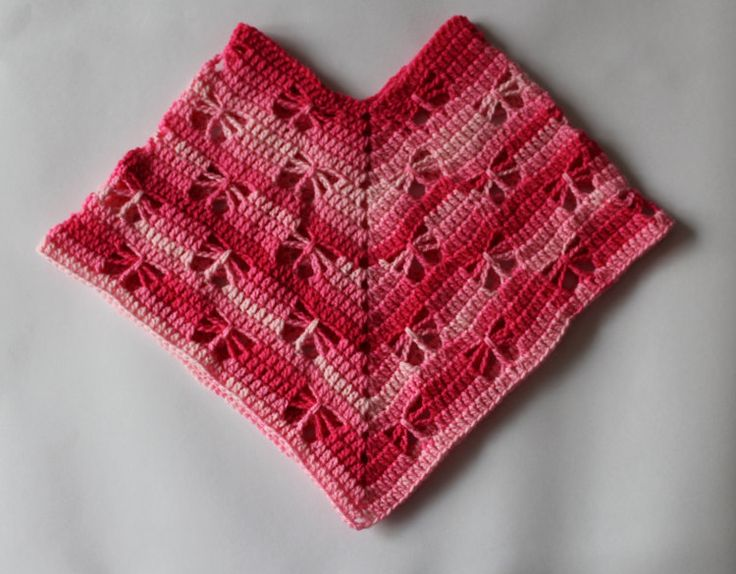 PDF Butterfly Poncho Crochet Pattern by Addicted2theHook on Etsy