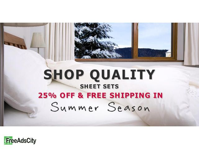 Shop Cool Bed Sheets For Hot Weather Have a happy summer sale, Lelaan 150-Thread-Count Jersey Cotton Sheets. Lelaan.com is offering 50% discount along with FREE shipping on ...