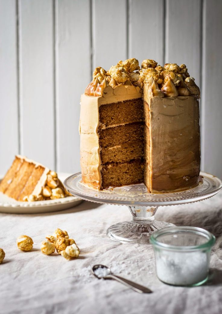 The Kate Tin: Salted Caramel Coma Cake