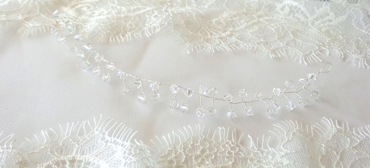 Hair Accessories with Swarovski Crystals for Brides