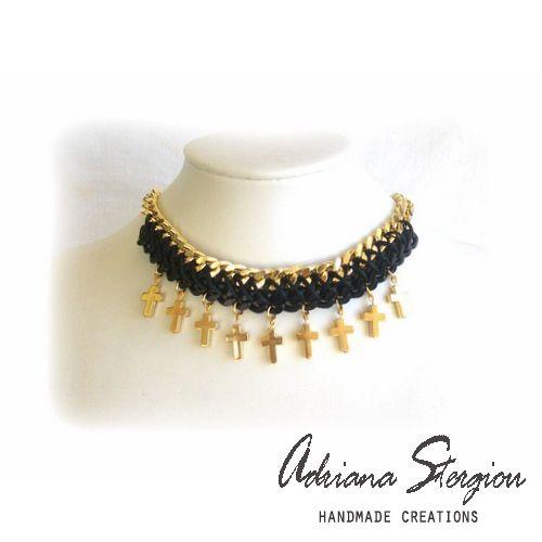 choker www.jewelmyday.gr www.jewelmyday.eu #handmade #accessories #fashion #jewelry #necklace #choker