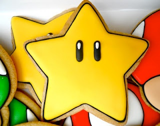 Mario Brothers Star Power (Star Cookie Cutter)