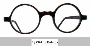 School Boy Small Round Reading Glasses - 252R Tortoise