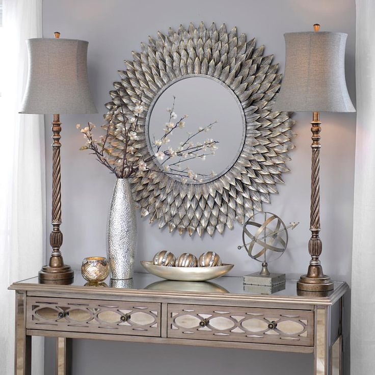 Add beauty and charm to your home with metallic buffet #lamps and various…