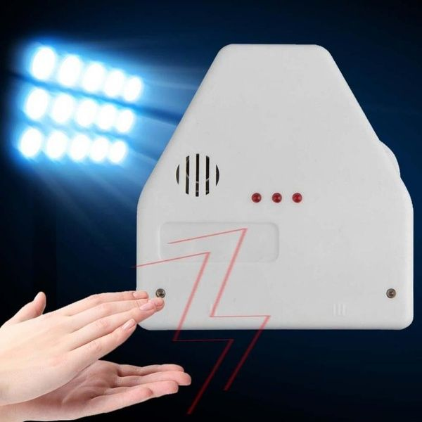 Wish   The Clapper Sound Activated Switch On/Off By Hand Clap Electronic Gadget Light E