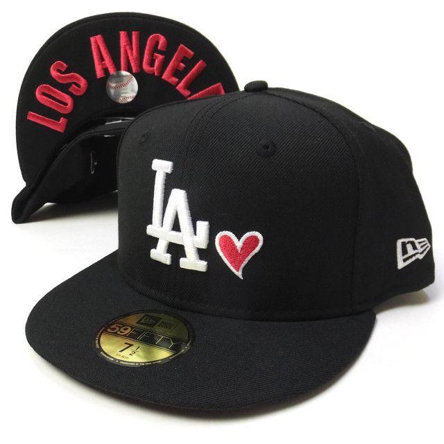≪新作≫ NEW ERA 【ニューエラ】 ベースボールキャップ 59FIFTY UNDERVISOR HEART CAP ロサンゼルス ドジャース LA