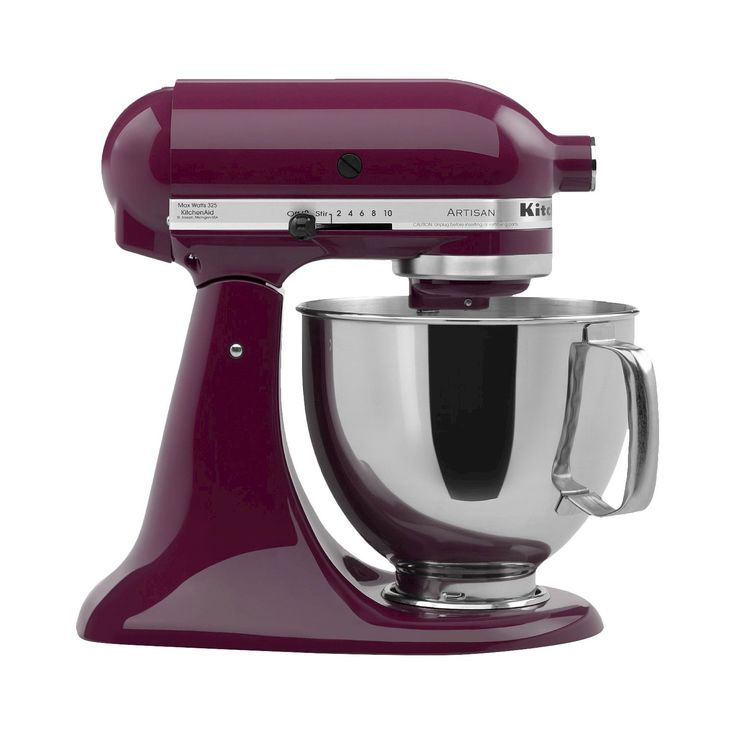 kitchenaid artisan stand mixer in color Boysenberry