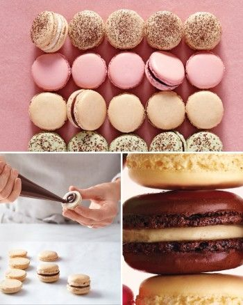 Martha Stewart // The Science Behind French Macarons (video tutorial)
