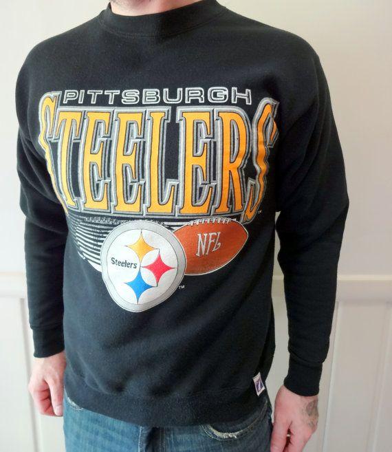 Vintage Pittsburgh Steelers Sweatshirt Size Medium 1992