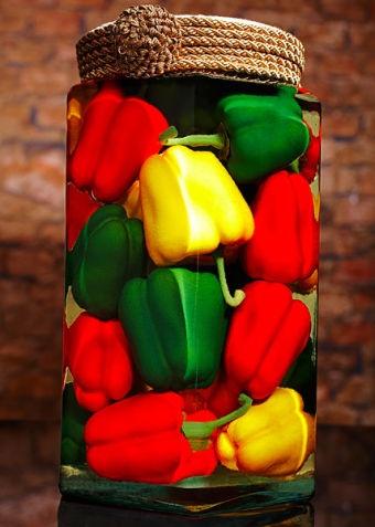 Colorful Kitchen - Pepper Decor